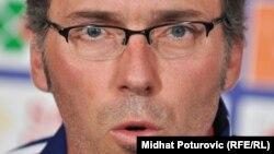 Fransa yığmasının baş məşqçisi Laurent Blanc, 6 sentyuabr 2010