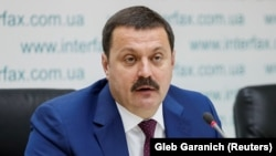 Ukrainian member of parliament Andriy Derkach (file photo)