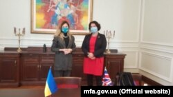 Еміне Джеппар зустрілася з послом Великої Британії