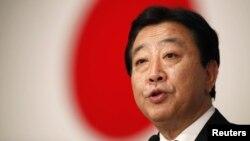 Жапония премьер-министрі Ёсихико Нода. Токио, 29 тамыз 2011 жыл.