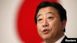 Японский премьер Ёсихико Нода