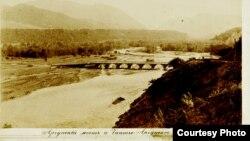 Мост через реку Аргун