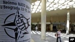 Protest protiv održavanja konferencije NATO-a u Beogradu, 30. maj 2011.