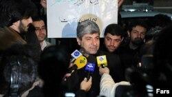Портпаролот на иранското Министерство за надворешни работи Рамин Мехманпараст.