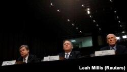 Șefii FBI, CIA și DNI, la audierile din Senat