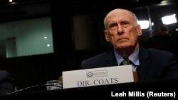 Dan Coats gjatë dëshmisë së sotme në Senatin amerikan