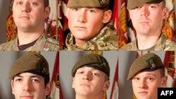 Шестеро британских солдат, погибших 6 марта в Афганистане