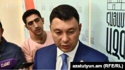 Эдуард Шармазанов, Ереван, 28 августа 2018 г.