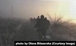 Бійці окремого добровольчого загону «Вольф». Під Донецьким аеропортом. 5 листопада 2014 року