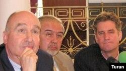 Minsk qrupu həmsədrlərinin Bakıda mətbuat konfransı. 6 iyun 2008