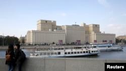 Здание министерства обороны России.