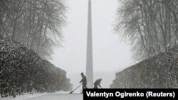 Сніг у Києві, 18 грудня 2017 року