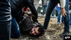 Задержание активиста у площади Таксим в Стамбуле