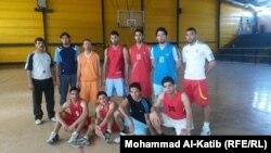 فريق كرة السلة في نادي المستقبل المشرق الرياضي في الموصل
