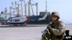 بحرین که پایگاه ناوگان پنجم آمریکا در خلیج فارس به شمار می رود.(عکس: AFP)