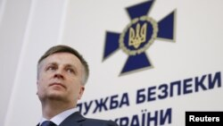 Udhëheqësi i Shërbimit Ushtarak Ukrainas, Valentyn Nalivaychenko - Kiev , 18 maj