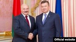 Зустріч президента України Віктора Януковича з президентом Республіки Білорусь Олександром Лукашенком, 18 червня 2013 року