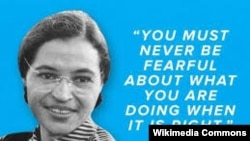 Rosa Louise McCauley Parks (1913 -2005.)