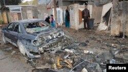 На місці одного з нападів 15 січня 2014 року, місто Кіркук