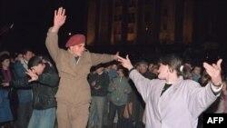 La Tbilisi după declararea independenței în 1991