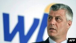 Zëvendëskryeministri dhe ministri i Jashtëm i Kosovës, Hashim Thaçi.