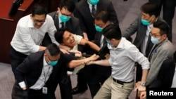 Гонконгдун парламенти. 18-май, 2020-жыл.