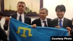 Рөстәм Миңнехановка Кырым турында сораулар күп булган
