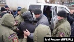 Задержание Марселя Шамсутдинова