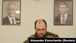 Дмитрий Трапезников после гибели Александра Захарченко в 2018 году. Донецк