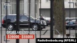 Раніше журналістам одразу два джерела з МВС підтвердили, що Тахтай їздить саме на скандальному Cadillac екс-міністра внутрішніх справ Анатолія Могильова