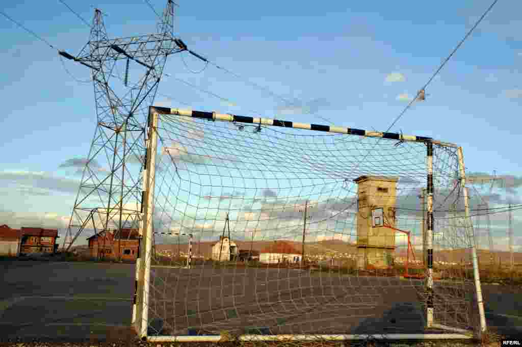 "FINALIST: ""Four in One: Football, Basketball, Energy Substation, and Power Transmitter"": Millosheva, central Kosovo. (Fatmir Aliu, Pristina bureau of RFE/RL's Balkan Service)"