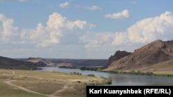 Река Или в Алматинской области.