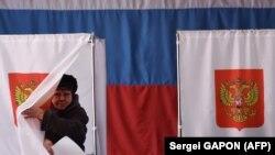 Жена гласа на претседателските избори во Русија