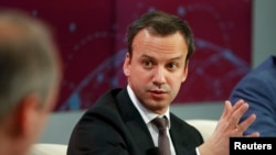 Russian Deputy Prime Minister Arkady Dvorkovich at Davos in January