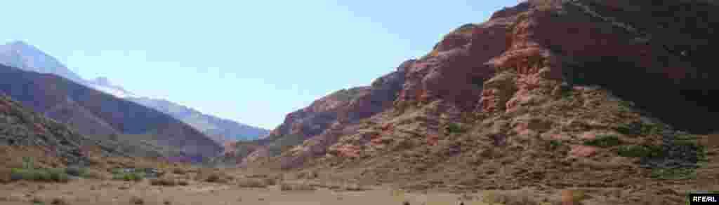 Осень в горах Иссык-Куля #3