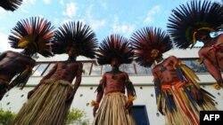 Рио-де-Жанейродогу саммит маалында түпкүлүктүү калктын өкүлдөрү атайын иш-чараларды өткөрүштү.