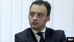 Спиро Ристовски, министер.