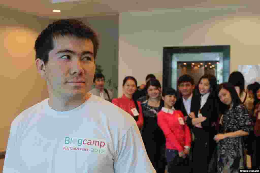 Курылтай блогеров в Назарбаев университете, Астана.