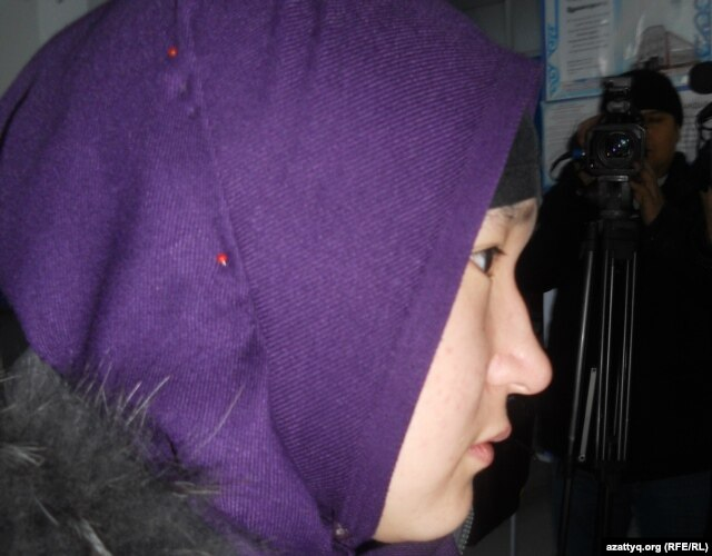 Perizat Moldasheva said what she wears is traditional Kazakh dress.