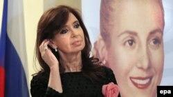Former Argentinian President Cristina Fernandez de Kirchner