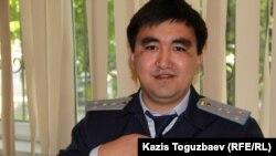 Прокурор Дәурен Халықов. Алматы, 13 мамыр 2016 жыл.