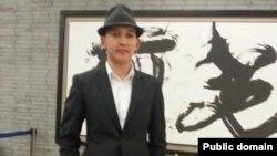 Шанхай қаласында оқып жатқан Тілектес Адамбеков. Сурет Facebook парақшасынан алынды.