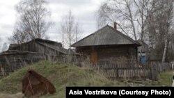 Деревня Гореловка в Томской области