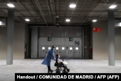 Zdravstveni zvaničnici u Italiji i Španiji kažu da postoje dokazi da se epidemija usporava (fotografija: Madrid, mart 2020)