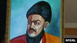 A portrait of Turkmen poet Magtymguly Pyragy