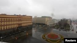 Вид на здание офиса ФСБ в Москве. Иллюстративное фото.