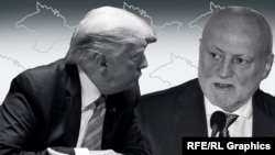 Дональд Трамп и Иван Имгрунт, коллаж