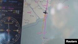 Поиски пропавшего самолёта начались сразу после его исчезновения 8 марта 2014 г.