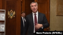 Milo Đukanović, crnogorski premijer