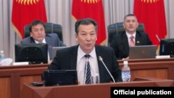 Акыйкатчы Бакыт Аманбаев.